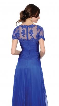 8438-royal - Sleeveless Floor-Length Dress by Terr