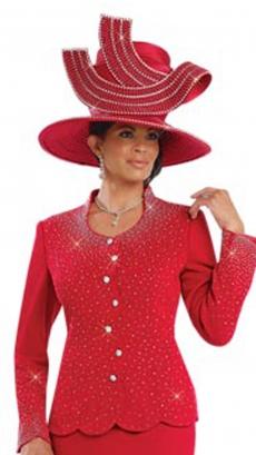 donna-vinci-hat-h13165-red