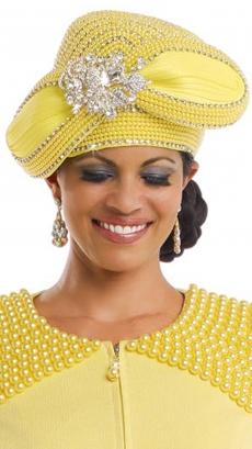 donna-vinci-hat-h13180-yellow