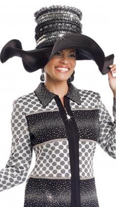 donna-vinci-hat-h13203-black