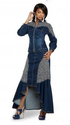 donna-vinci-jeans-8438-blue