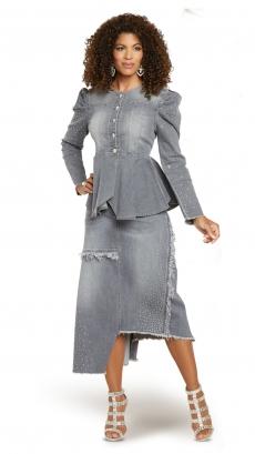 donna-vinci-jeans-8440-grey