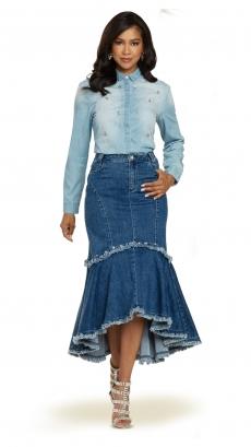 donna-vinci-jeans-8441-blue