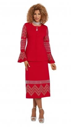 donna-vinci-knits-13303-red