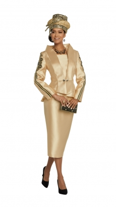 donna-vinci-suits-11807-gold