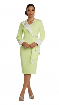 donna-vinci-suits-11847-neon-mint