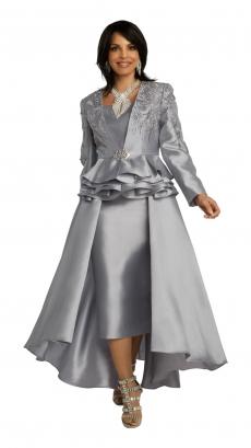 donna-vinci-suits-11851-silver