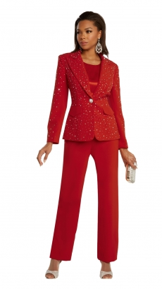 donna-vinci-suits-11856-red