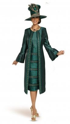 donna-vinci-suits-11901-pine-green