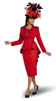 donna-vinci-suits-11904-red