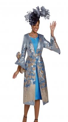 donna-vinci-suits-11926-silver