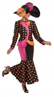 donna-vinci-suits-5584-orange