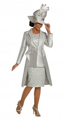 donna-vinci-suits-5670-silver