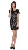 8461-black - Sleeveless Floor-Length Dress by Terr